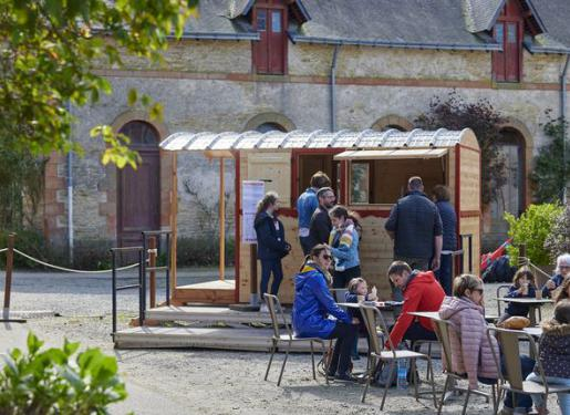 roulotte snacking au haras hennebont